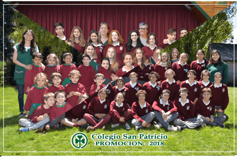 Egresados 2018 Colegio San Patricio Bariloche
